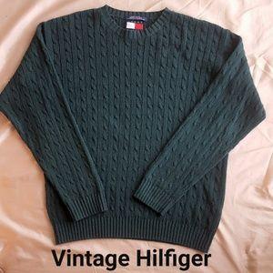 Tommy Hilfiger Vintage Mens Long Sleeve Sweater